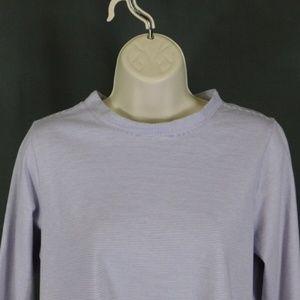 3 for $10  Jill Small Petites Purple Stripe Blouse